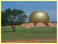 Matri Mandir in Auroville, Pondicherry